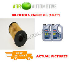 DIESEL OIL FILTER + C1 5W30 OIL FOR LAND ROVER DISCOVERY 2.7 190 BHP 2009-