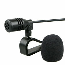 3.5mm Microphone External Mic For Car Stereo GPS Bluetooth Omnidirectional Audio