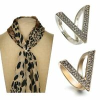 mit Schal Accessoires für Mode Schmuck Schnabel am Schal Ring aus Schal Brosche
