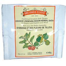 Dresdner Essenz-Herbal Bath Therapy Orange Linden-5 packs x 2.1oz +Bonus Gift