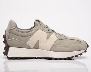 New Balance 327 Women's Grey Oak Sea Salt Low Casual Lifestyle Sneakers Shoes