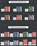 Wilding Specialist 1960-1967 Crowns Watermark Inverted Cream & Whiter Paper