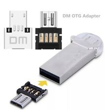 Micro USB DM OTG Adapter Male to USB Female For Android Phone Tablet PC New
