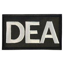 US DEA Drug Enforcement Federal Agency embroidered FBI brassard fastener patch