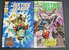 DC UNIVERSE JUSTICE LEAGUE # 44 AND DC UNIVERSE JUSTICE LEAGUE # 49