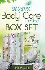 Organic Body Care Recipes Box Set : Organic Body Scrubs, Organic Lip Balms, O...