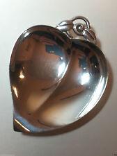 36.2 grams TIFFANY & CO. Sterling Silver Heart Shaped Leaf Nut Dish 22886