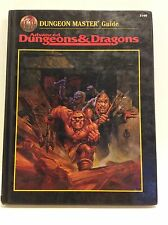 Advanced Dungeons and & Dragons DUNGEON MASTER GUIDE 2160 TSR