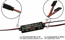 DPSI Micro SingleBat 5.9V/7.2V F3A Edition - Akkuweiche! Perfekt f. 10 Servos!