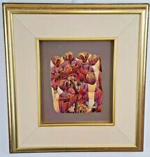 David Ordonez Signed Original Guatemalan Artist Painting 1984