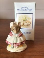 Vintage Royal Albert Beatrix Potter The Old Woman Who Lived In A Shoe Knitting