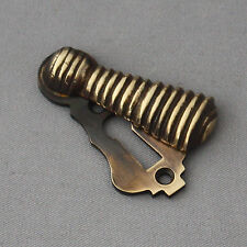 Long Brass Beehive Escutcheon