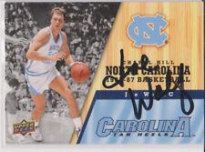 JOE WOLF North Carolina Tar Heels SIGNED Upper Deck Basketball Card