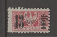 Poland cinderella or fiscal Revenue stamp 8-9-20-42 as seen