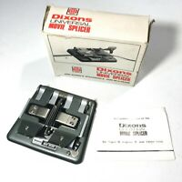 Dixons Universal Movie Splicer for Super 8 Standard 8 & 16mm Films + Boxed