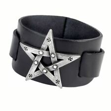 Alchemy Gothic (Metal-Wear) Pentagration Pewter Bracelet BRAND NEW
