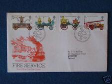 Primer día cubierta-servicio de bomberos-Doble Estampado - 24/4/74 Edimburgo
