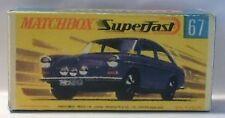 Repro Box Matchbox Superfast Nr.67 VW 1600 dunkellila