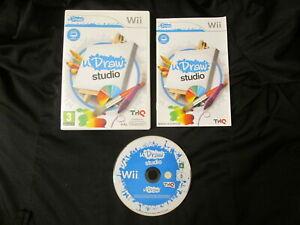 WII : UDRAW STUDIO - Completo, ITA ! Compatibile con Wii U ! Richiede Udraw