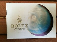 Rolex oyster booklet spanish 1976 original like new very rare
