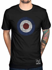 Official The Who Distressed Logo T-Shirt Endless Wire Quadrophenia Target Rock
