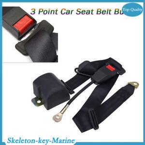 Universal 3 Point Retractable Auto Seat Belt Bolt Extension More Safe for Car
