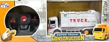 R/C RADIO CONTROL FULL FUNCTION SUPER TRUCK CONSTRUCTION TOY WITH LIGHTS 27MHZ