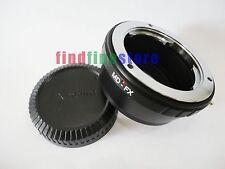 Adapter for Minolta MD MC Lens to Fujifilm Fuji FX mount X-Pro1 X-E1 X-M1 + CAP