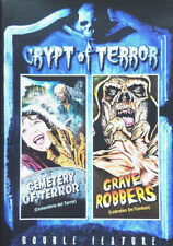 Crypt Of Terror Double Feature-Cemetery Of Terror/Grave Robbers DVD NEW UNSEALED