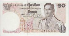THAILAND BANKNOTE P83  10 BAHT SIG 49, EF