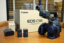 Canon C100 Cinema EOS Camera (Body Only) 6340B002 - Only 70 hours!