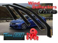 Honda Civic X  2017 -  SALOON / SEDAN  4D Wind deflectors  4.pc HEKO 17182