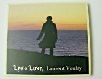 DISQUE CD ♫ - LAURENT VOULZY - LYS & LOVE - CD 12 TITRES - PAS VINYLE 33 45 TOUR