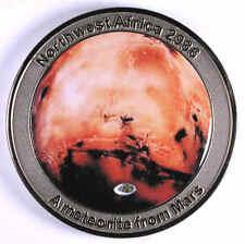 NWA 2986 MARS Meteorite Medal (first series) - by catchafallingstar.com