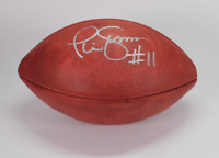 Phil Simms signed autographed The Duke football! RARE! AMCo Authenticated!