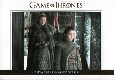 Game of Thrones Season 7, 'Relationships' GOLD Chase Card DL42 #066/225