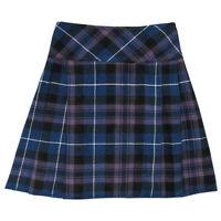 """Ladies Mini Pride Of Scotland Skirt Mini Billie Kilt  16"""" Length Tartan Pleated"""