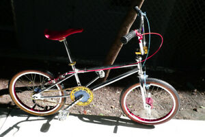 "1987 Oldschool BMX GT Pro Series XL Chrome Bike 20"""