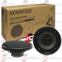 "KENWOOD KFC-G1620 6.5 INCH 2-WAY CAR AUDIO COAXIAL SPEAKERS 6-1/2"""