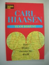 Disney Devours The World Team Rodent Carl Hiaasen 1998 Humor Softcover Usa