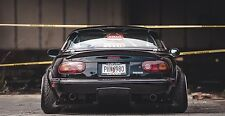 Mazda MX-5 Rear TS Style Diffuser / Undertray Performance, Aero v4 Drift Track