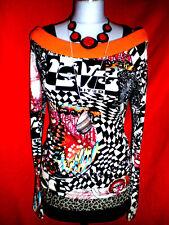 MEXX BLUSENSHIRT BLUSE CROPSHIRT BoHo ROMANTIK BLOGGER S 36 NEUW !! TOP!!