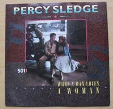 "PERCY SLEDGE WHEN A MAN LOVES A WOMAN 7"" P/S 1987 LEVIS ISSUE UK"