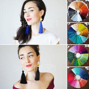 Silky Luxe Mala TASSEL Craft Yoga Boho Jewellery Making Scarf Earring Necklace