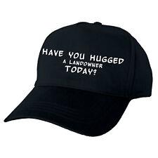 Haben Sie umarmt ein Grundbesitzer heute? Hand gedruckt Baseball Cap Geschenk