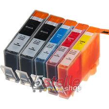KIT 5 CARTUCCE COMPATIBILI HP 364 XL CON CHIP PER OFFICEJET 4620 NERO + COLORI
