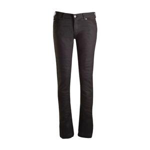 Bull-it Ladies Oil Skin 17 Slim Fit Covec Armoured Motorcycle Jeans Regular SALE