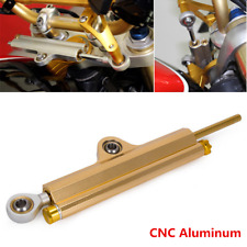 1x CNC Steering Damper Motorcycle Stabilizer Reversed Safety Control Adjustable