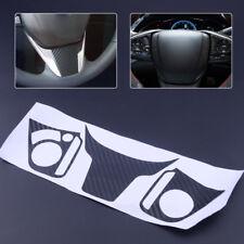Carbon Color Steering Wheel Emblem Sticker Badge Cover Fit For Honda Civic 16-17