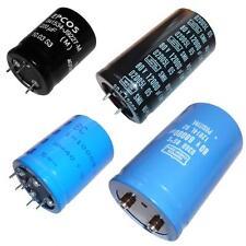 Condensateurs électrolytiques en aluminium - Borne à vis, Snap-In + Multi-Pin